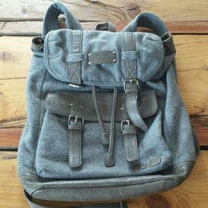 Sherpani Havana wool leather backpack